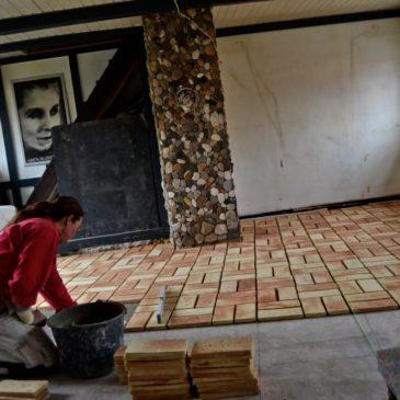 Murerstens gulv
